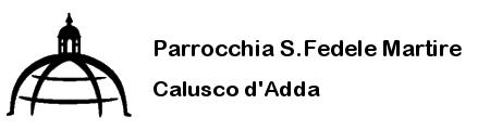 Parrocchia S. Fedele Martire – Calusco d'Adda Logo